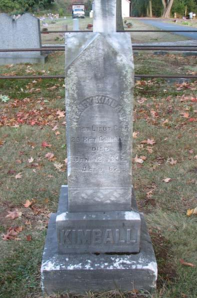 Henry Kimball First Lieut. Co. 25 Rgt Conn Vols.