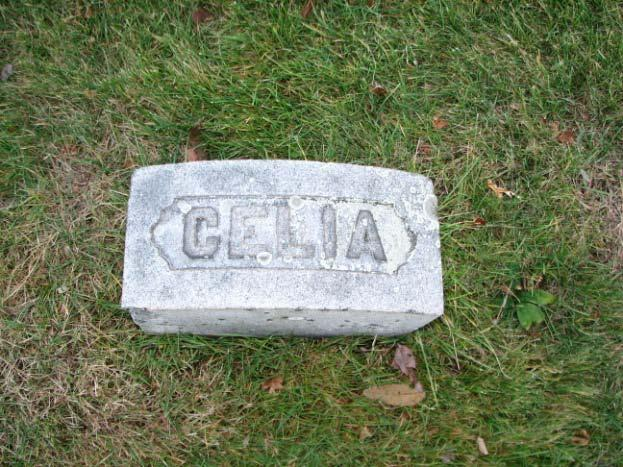 Celia (Spencer) Celia Spenser was the daughter of Harlow and