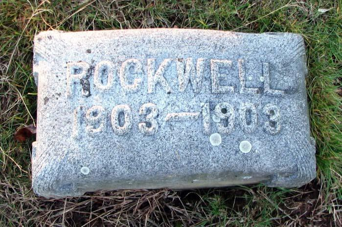 Rockwell Tomlinson 1903 1903 In memory of Mrs.