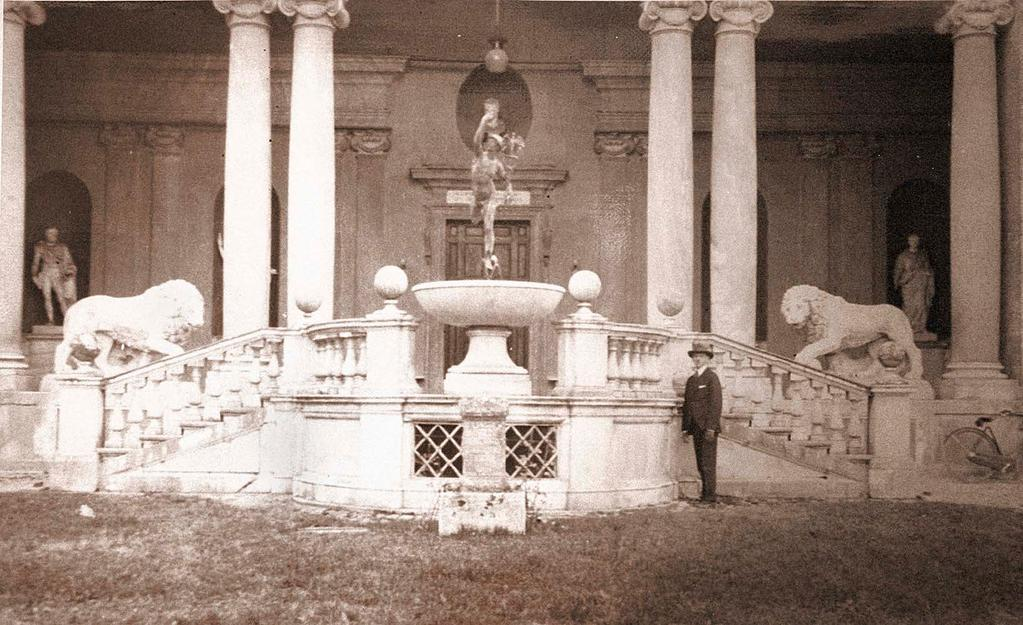 Introduction Villa Medici, Rome, Edward Lawson standing in front of loggia designed by Bartolomeo Ammannati, circa 1576 (Photo: Anonymous) Edward Godfrey Lawson (FAAR 21, FASLA 38) was an eminent