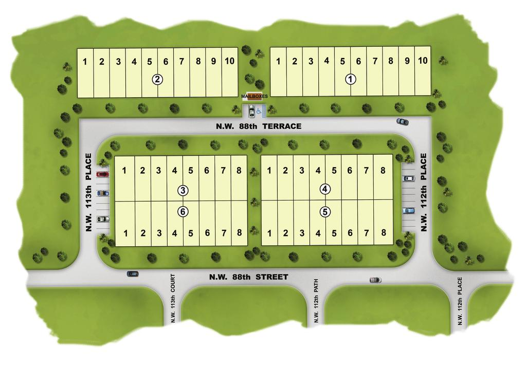 Monaco at Doral Preliminary Site Plan /Doral Welcome Home Center located at St.