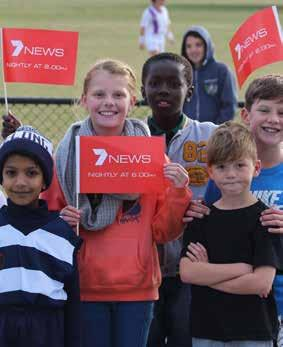 celebration of the inaugural 7NEWS Round.