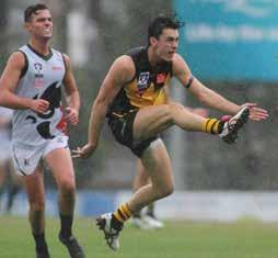 YOUNG TIGERS LEAVING THEIR MARK After six rounds of the 2015 VFL season Werribee finds itself on top of the ladder, having dropped just the opening round of the season against Geelong, a game that