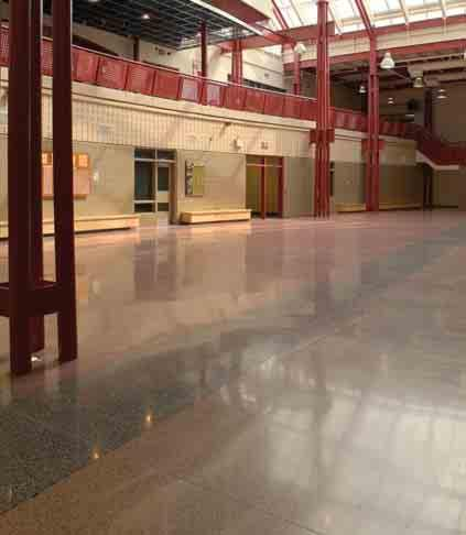 We are a one-stop supplier capable of pouring new floors to exact specifications as well as restoring existing concrete surfaces with