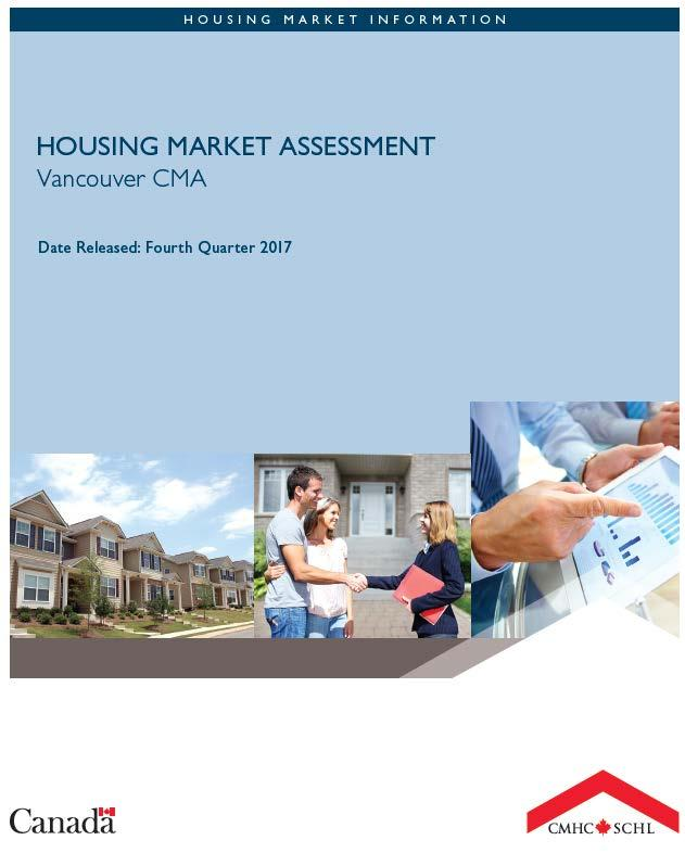 Evidence of Speculative Investment CMHC Housing Market Assessment: Reports high evidence of overvaluation in Metro Vancouver, which cannot all be explained by fundamentals Improvements in fundamental