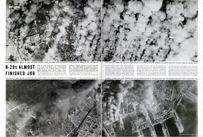 of the port cities that fully demonstrated what the bombs had done (see Figure 33).
