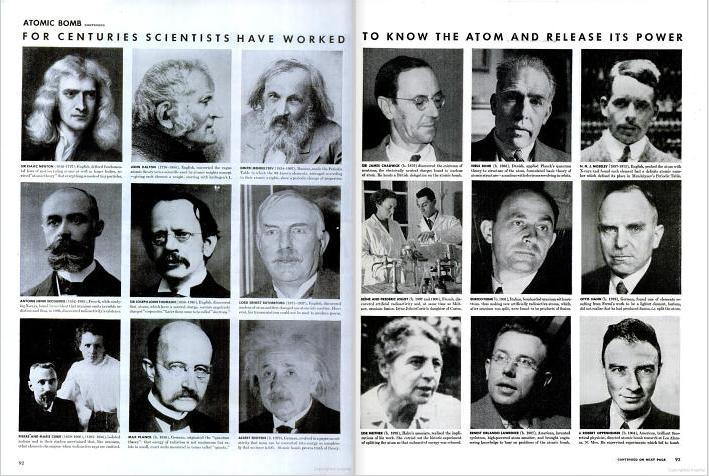 greats such as Isaac Newton and Albert Einstein (see Figure 37).