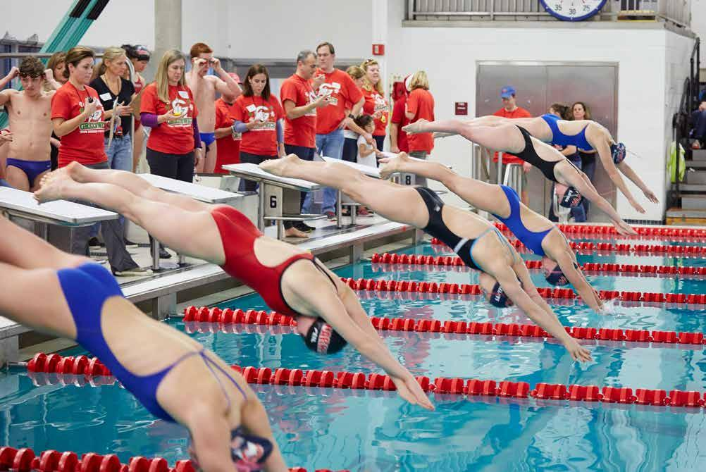 In its 47 th year, led by head coach, Nick Cavataro, the Greenwich YWCA Dolphins Swim Team is highly competitive ranked in the top 5% nationally and consistently sets records in individual events and