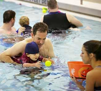 swim lessons and group classes for