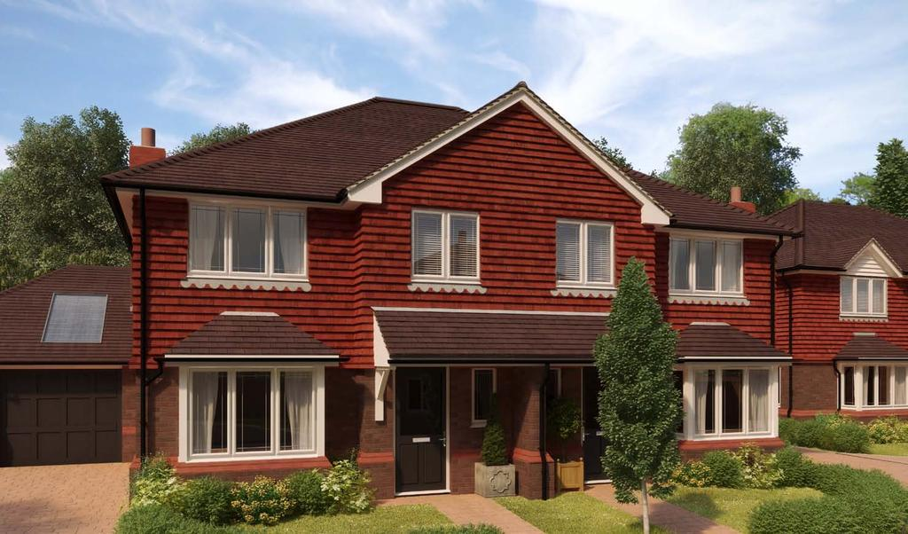 Artist s impression THE PORTWAY (PLOTS 1 & 2) A pair of three bedroom