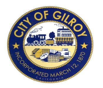 10.C City of Gilroy STAFF REPORT Agenda Item Title: Consideration of an Ordinance of the City Council of the City of Gilroy Repealing Ordinance No.
