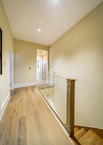 The impressive specifications include carpeted hallways and bedrooms, solid oak entrance doors, high quality engineered oak flooring in each