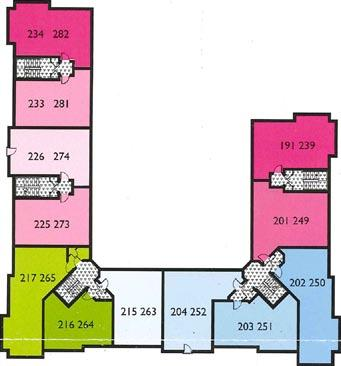 Floor Levels & Apartment Layout for Connaught Park,