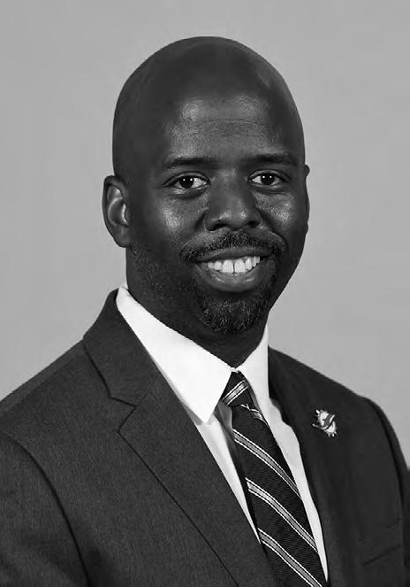 COMMENCEMENT SPEAKER Jason Jenkins is in his 10th season with the Miami Dolphins, having served as Senior Vice President, Communications and Community Affairs since 2015.