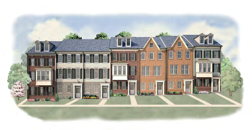 TOWNS AT Elevation B Elevation C Elevation C Elevation B Elevation A Elevation A Elevation B The Towns at Totten Mews from $599,990 Northeast Washington, District of Columbia The Towns at Totten Mews