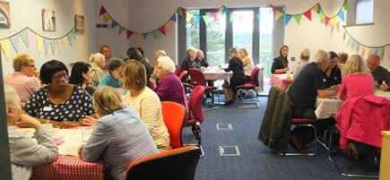 involvement during our recent Strategy Café at Cornerstone House. 97.7% of tenants are satisfied with the services we provide, this is up 4% on last year. 79.