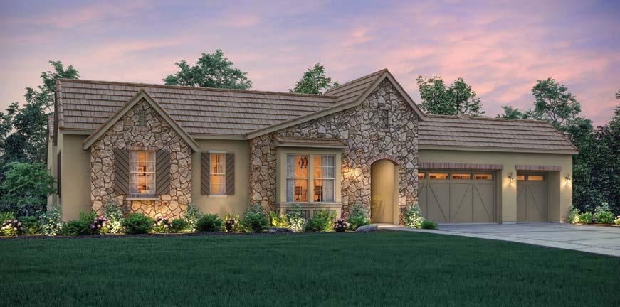 In addition to the spacious bedrooms, great room, formal nook, optional den, and optional RV garage, homeowners will enjoy an