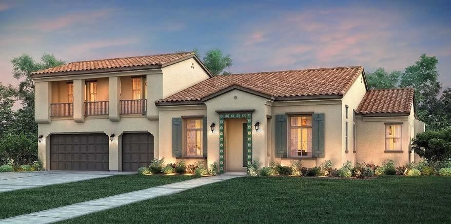 PLAN A - SPANISH EXTERIOR PLAN B - TUSCAN EXTERIOR PLAN C - FRENCH EXTERIOR South Reno Two-Story