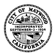 DEPARTMENT OF BUILDING AND PLANNING 4319 E. Slauson Avenue Date: Maywood, CA 90270 (323) 562-5723 No: APPLICATION FOR CERTIFICATE OF PARCEL MERGER A. APPLICANT INFORMATION 1.