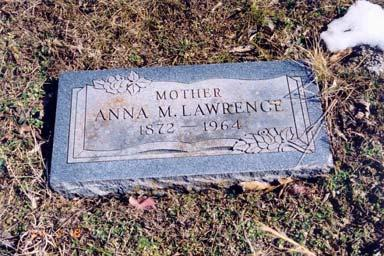 Lawrence, Anna M.