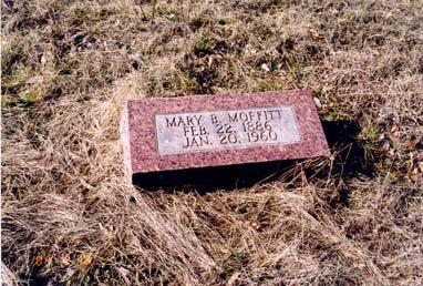 1890; aged about 35 years; wife of Charles Mathews Miller, Christian; died 14 May 1873; aged 55
