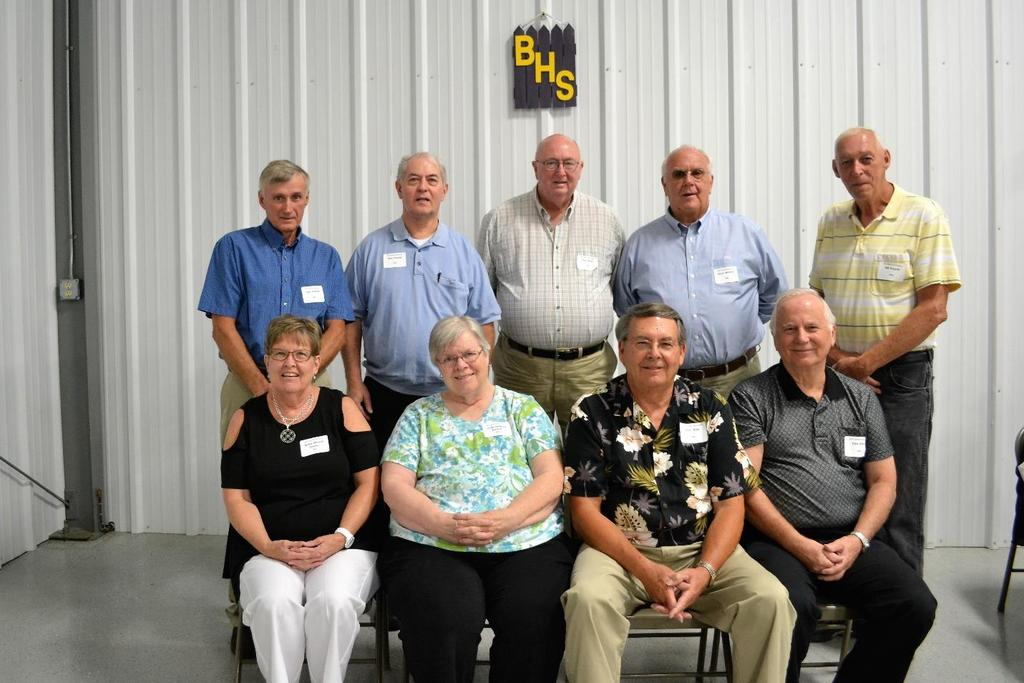The class of 1964 again had the most classmates attending the banquet other than the honored class of 1967.