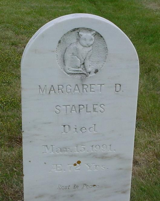 Staples Margaret D., d.