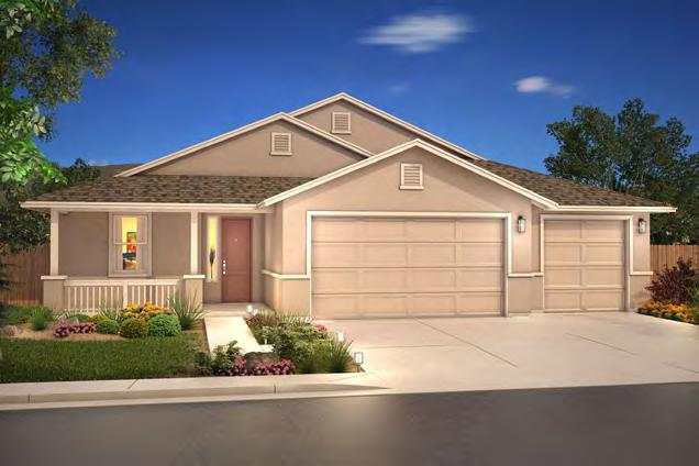FLOORPLANS PLAN 2058 Stories: Square Feet: Bedrooms: Bathrooms: Garage: 1 2,058 3 2 (With 2.