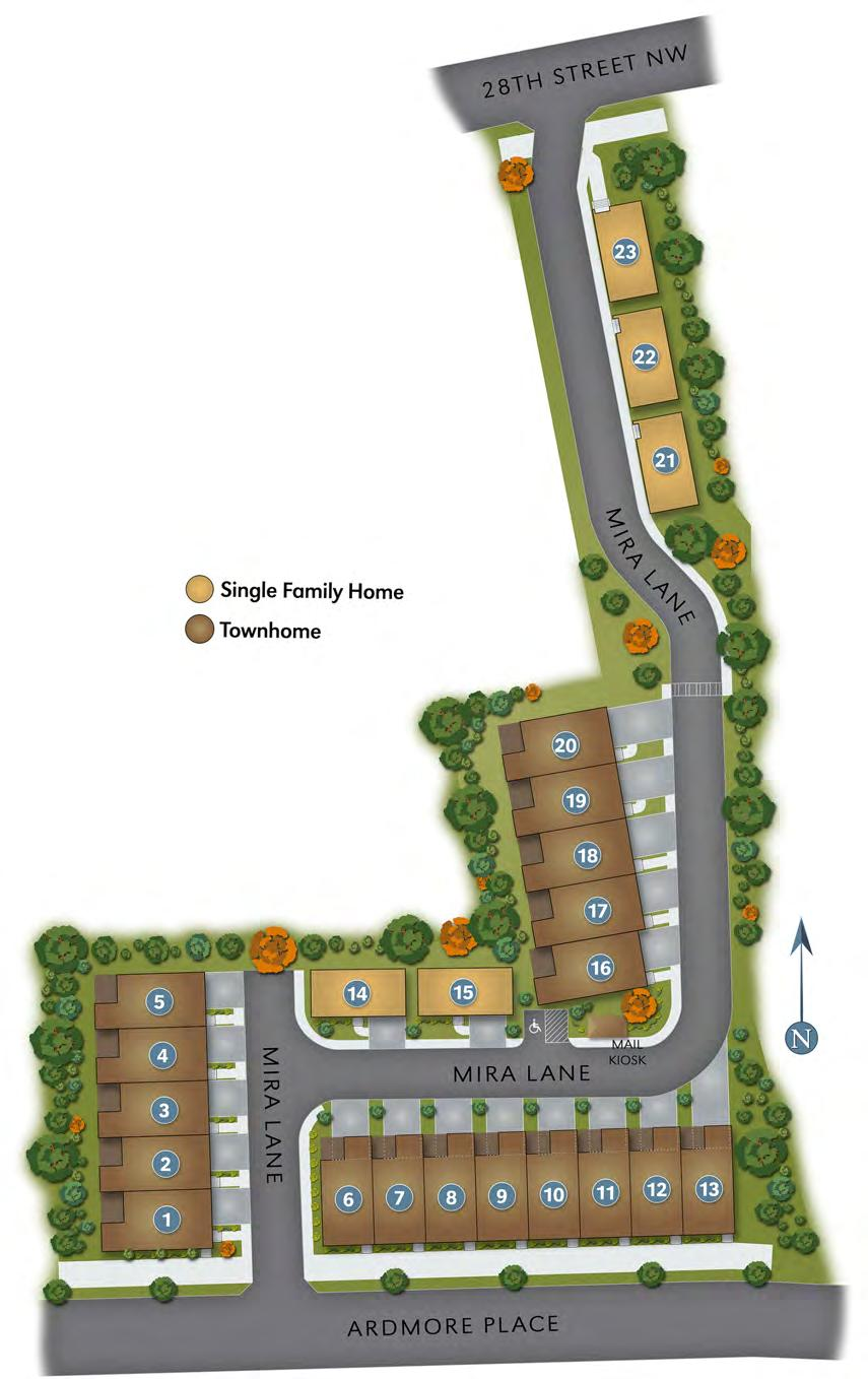 THE SITE LENOX PLAN D HOME PLAN The information is subject to change without notice,