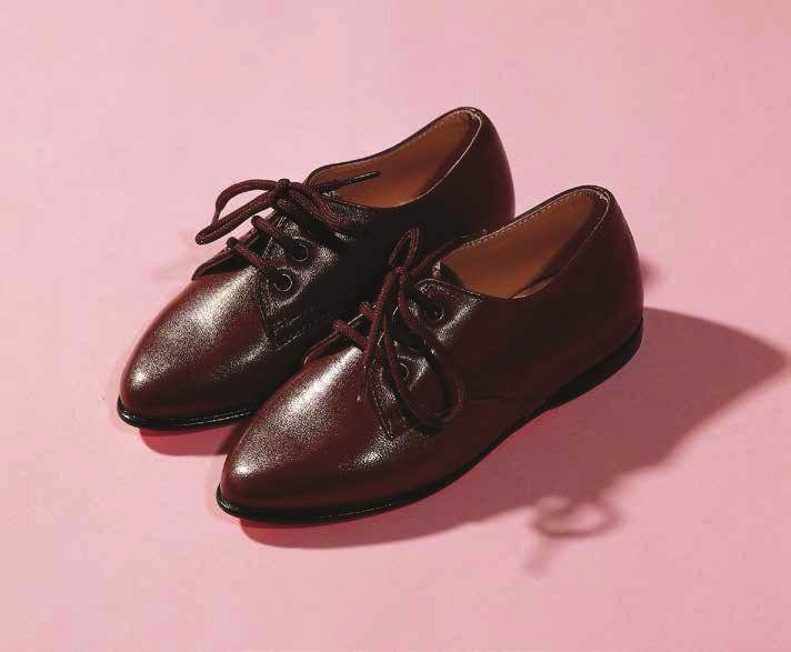 SHERRIE LEVINE Two Shoes, 1992 For Parkett 32 Pair of children s shoes, brown leather,
