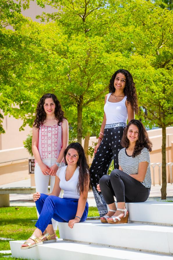 VISION To see all Middle Eastern young women accessing quality higher education, paving the way towards a peaceful world and an equal society through the power of education.