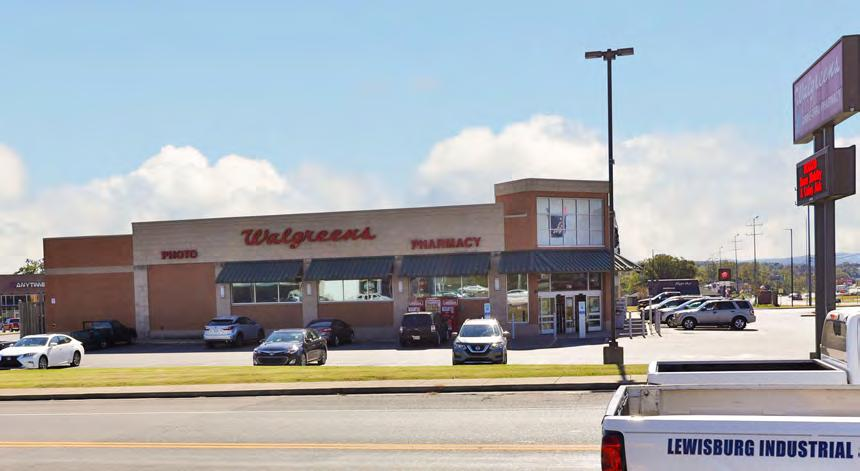 The lease is backed by a corporate guaranty from Walgreen Company, which was ranked number 17 on the Fortune 500 list as of June 2017. The company registered $117.
