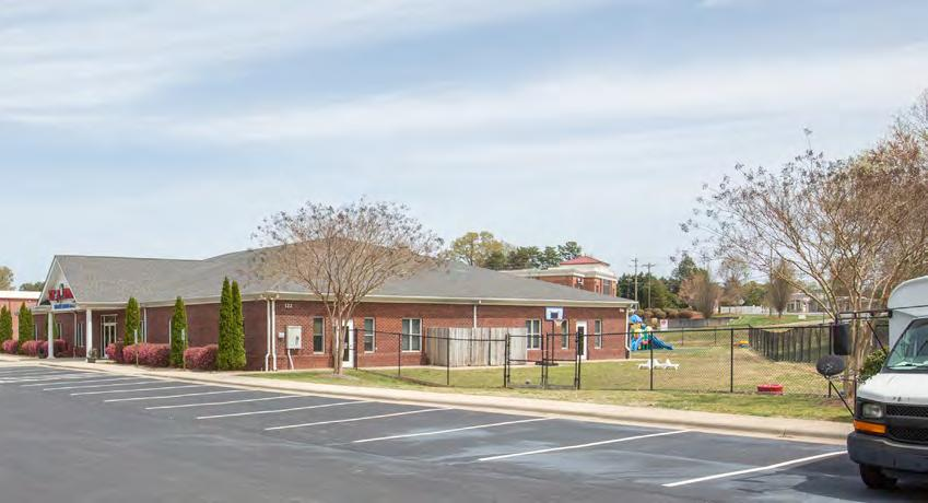 for-profit child care provider with more than 900 locations in the United States. The subject property is located on a large, 1.9-acre, full block parcel.