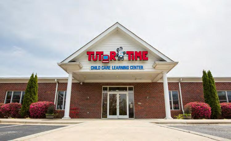 6 TENANT OVERVIEW TENANT OVERVIEW - TUTOR TIME Established in 1988 in Boca Raton, Florida, Tutor Time has nearly 200 corporate and franchise child care schools throughout the United States, Hong Kong