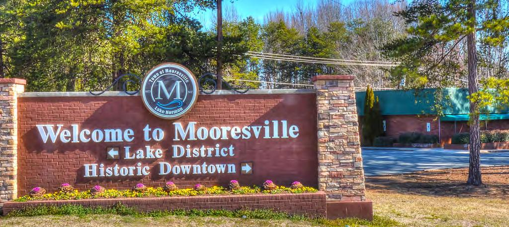 Additionally, Mooresville offers great family fun attractions making it a great place for stay for business or pleasure.