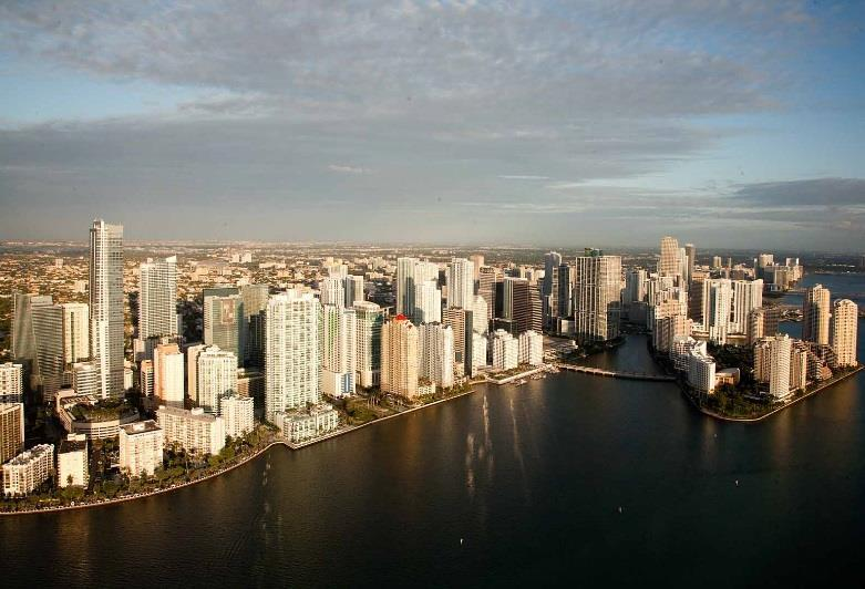 Miami-Dade Miami-Dade office market maintains broad base of healthy leasing activity Miami-Dade year-to-date total leasing activity of 1.2 million square feet represents 6.