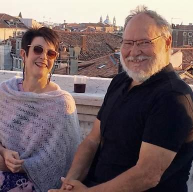 WHO ARE WE? Thanks once again to Richard and Jo- Anne for a week that was simply put, life changing.the Palazzo Albrizzi was so conducive to writing and enjoying the beauty of Venice.