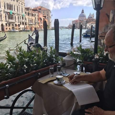 EVER DREAMT ABOUT BEING A WRITER AT WORK IN VENICE?