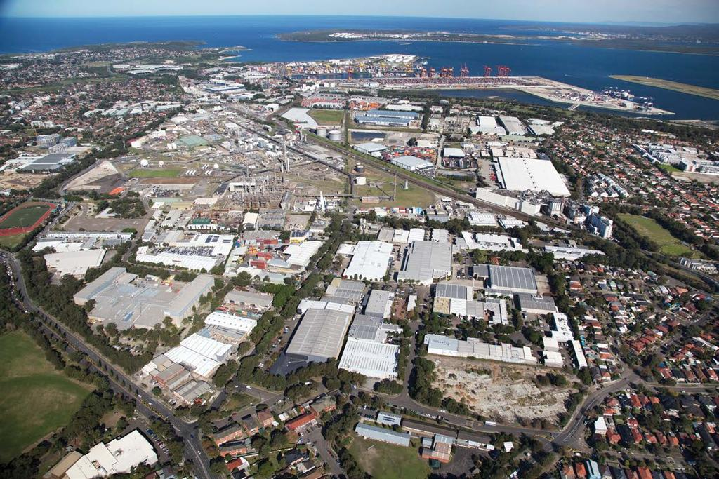 VIEW FROM ABOVE 3 Port Botany Sydney Airport Foreshore Road Botany Grove Business Park Anderson
