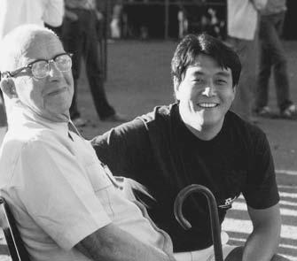 """I'm not a genius. I'm just a tremendous bundle of experience."" Dr. R. Buckminster Bucky Fuller From left to right: Dr. R. Buckminster Bucky Fuller at eighty-six years old with Robert Kiyosaki in 1981."