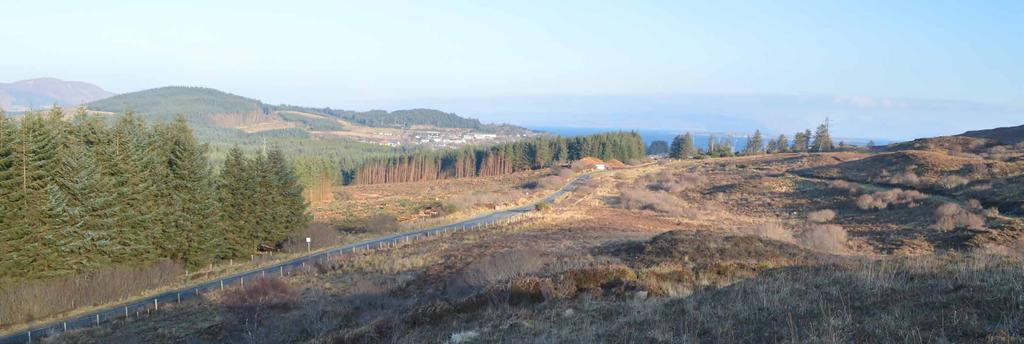 BROADFORD FARM LAND 33.23 Hectares / 82.11 Acres Lot 3 An opportunity to acquire potential development and forestry planting land in a striking location on the beautiful Isle of Skye.