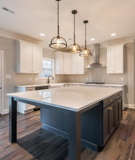 Lighting & Electrical: Well-appointed lighting package Pendants over kitchen islands and peninsulas, sconces on stairways Recessed lights in kitchen Directionally lit