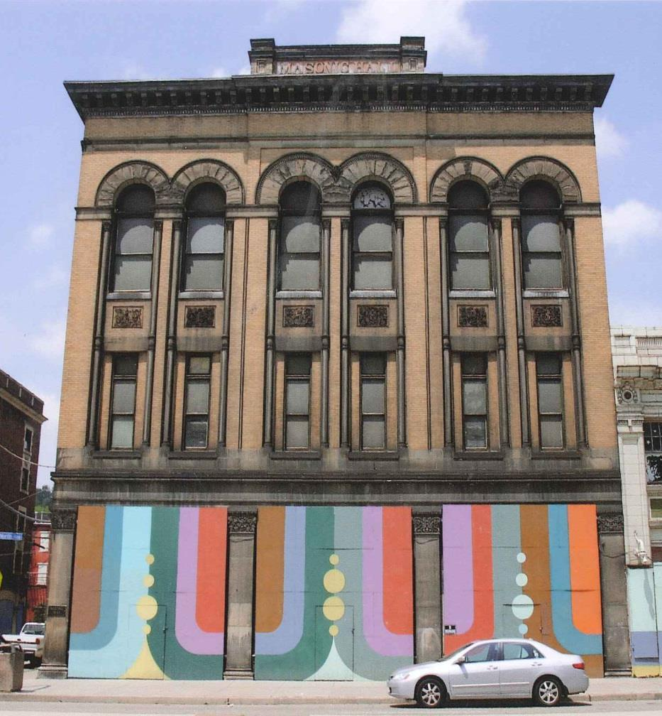 "Masonic Hall, Pittsburgh, PA 3) The project must meet the ""substantial rehabilitation test"" The cost of rehabilitation must exceed the greater of $5,000 or the prerehabilitation value/adjusted basis"
