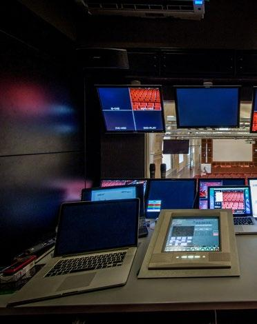 HIGH-TECH FACILITIES ROME Control room Ready-to-use locations