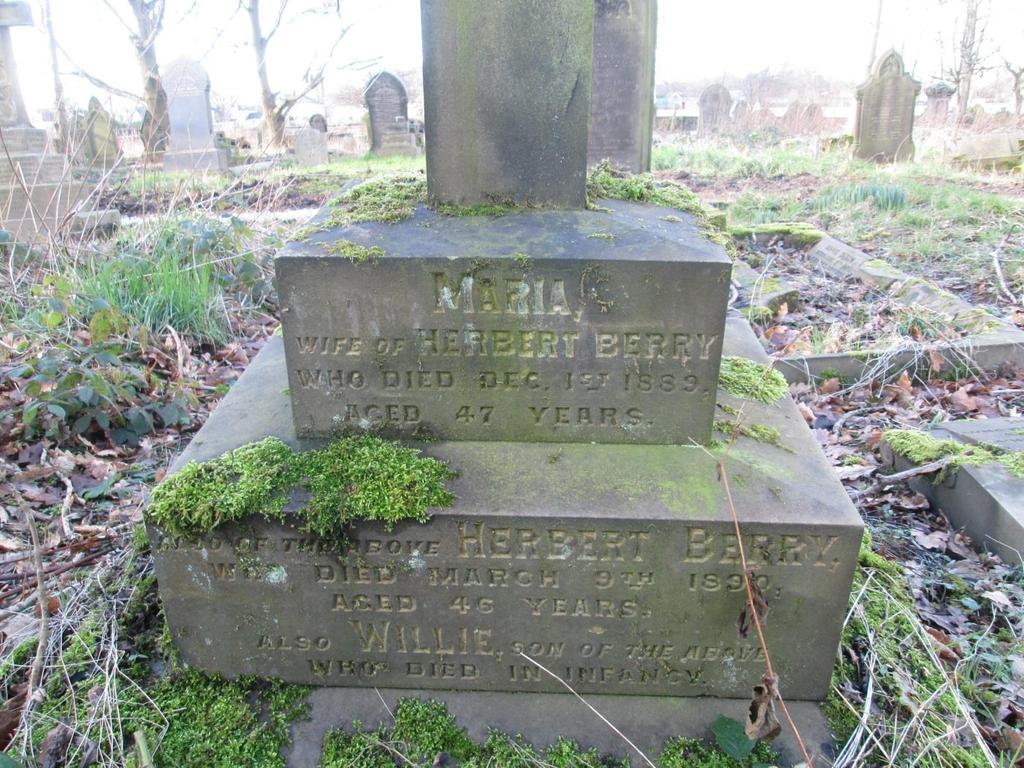 Herbert and Maria Berry would see their son Harry marry 24 year old Ada Greenwood on 19 th May 1889 at the parish church Halifax.