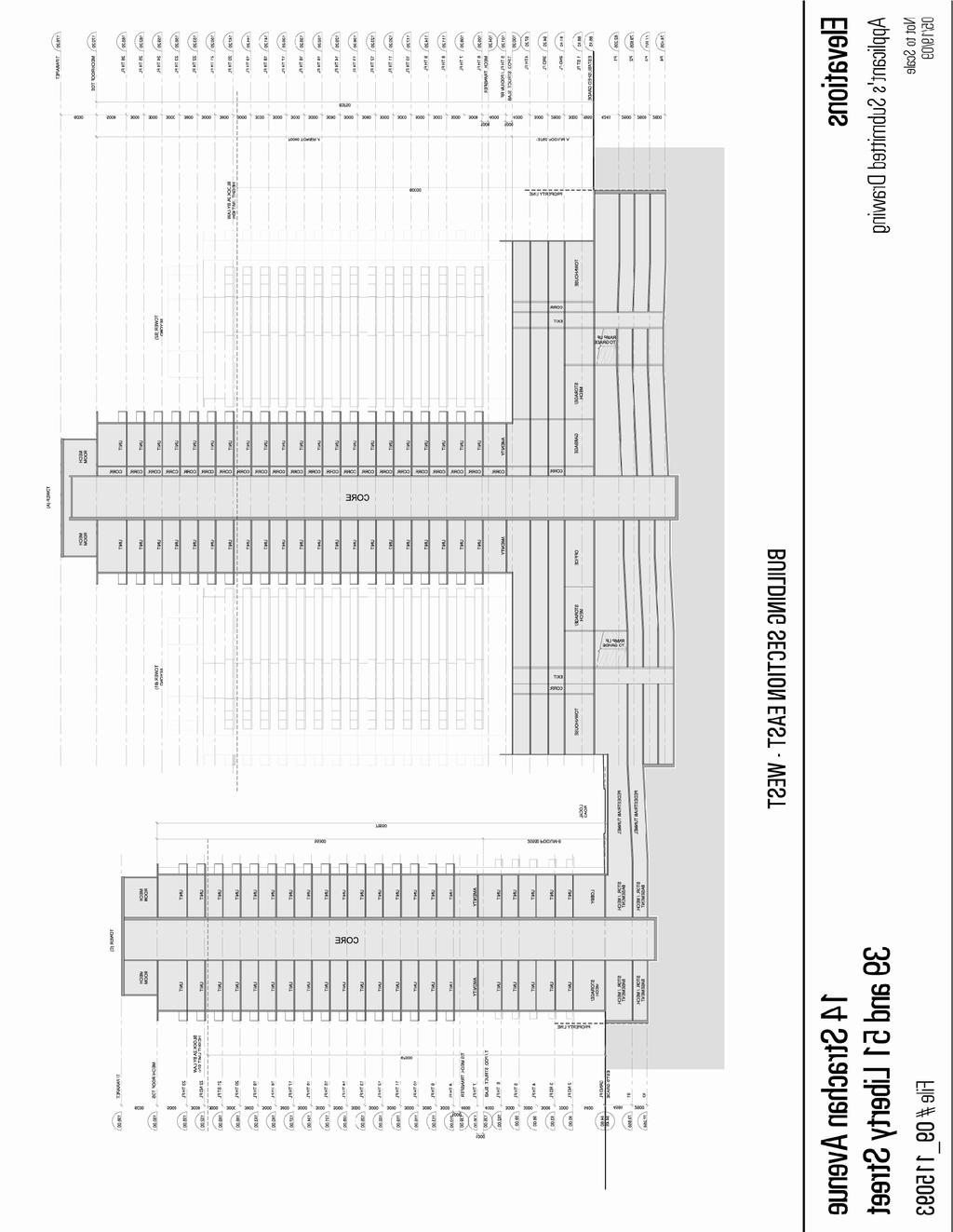 Attachment 3: South Elevation/Section Staff report for action