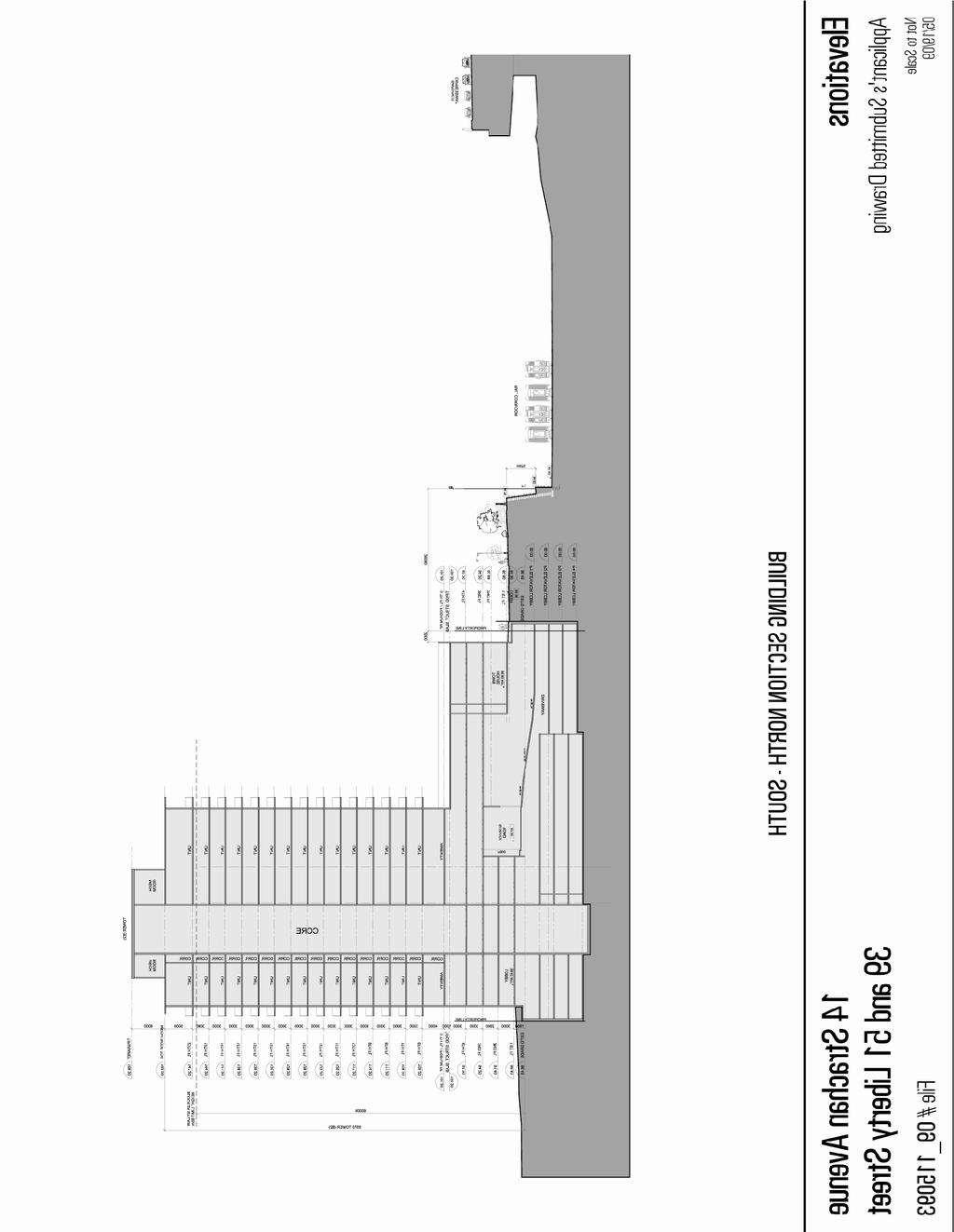Attachment 2: East Elevation/Section Staff report for action