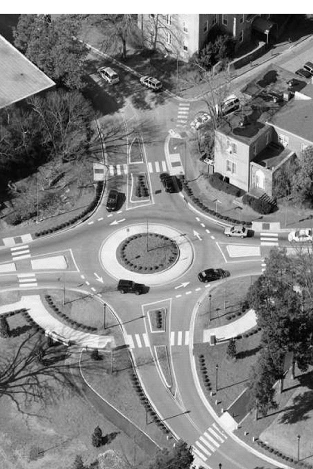 NORTH CAROLINA DEPARTMENT OF TRANSPORTATION Why Install a Roundabout? Roundabouts help address safety and congestion concerns at intersections.