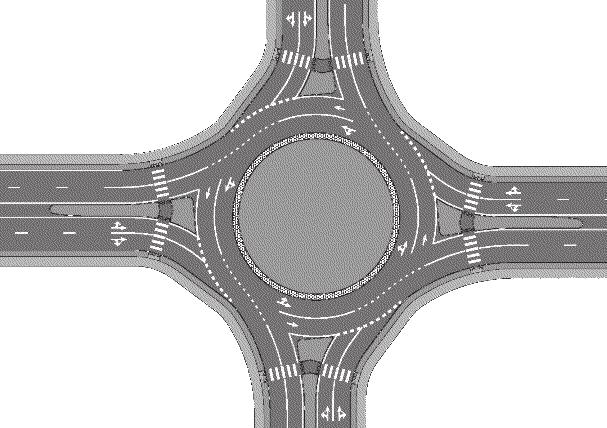 FREQUENTLY ASKED QUESTIONS Ocean Isle What is a roundabout? A roundabout is an intersection requiring entering traffic to yield the right of way to traffic already in the roundabout.