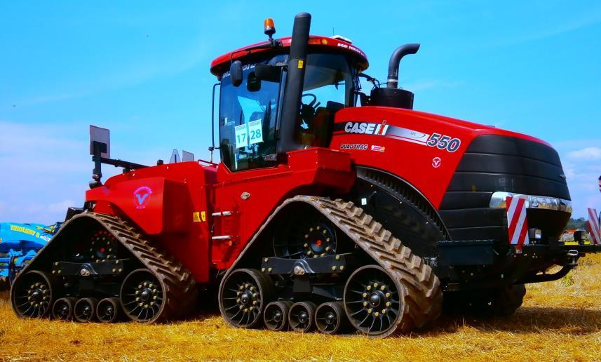 Ag Study Recovery values of large tractors and combines